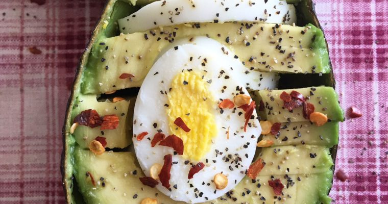 Avocado and Egg Slice?